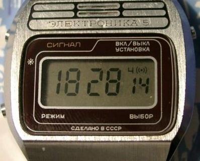 0a3c7a2e Часы Победа, очень популярные в СССР; Советские электронные часы