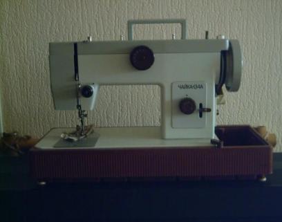 руководство к швейной машине чайка 3 скачать