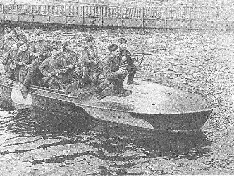битвы на лодках