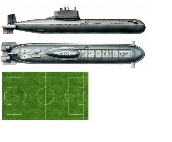 подводная лодка проект акула видео