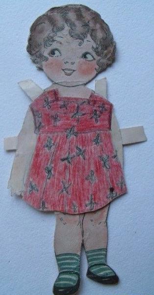 Кукла из картона своими руками фото