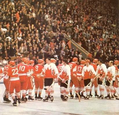 Хоккей суперсерия ссср канада 1972 г