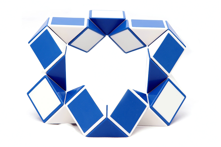 Как сделать что-то из змейки рубика